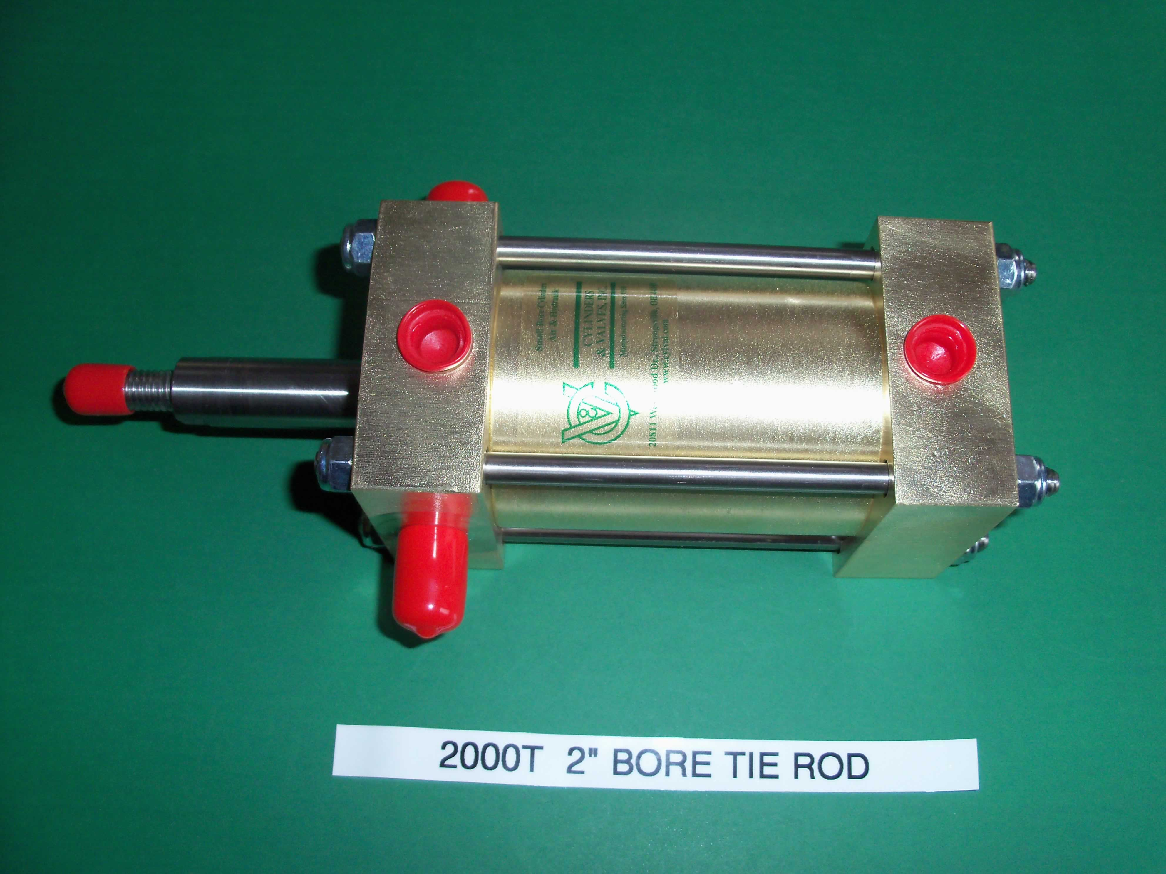 Pneumatic Cylinder with Tie Rods