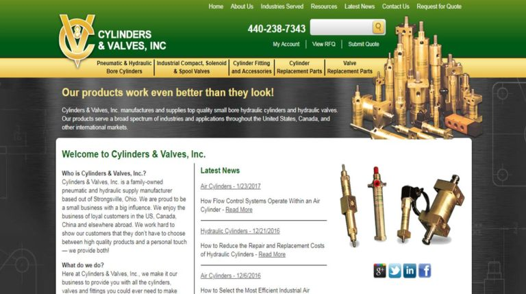 Cylinders & Valves, Inc.