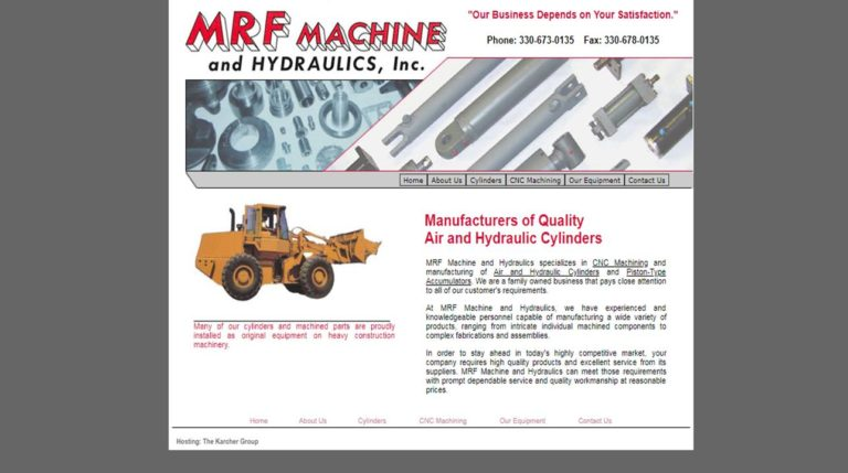 MRF Machine & Hydraulics, Inc.