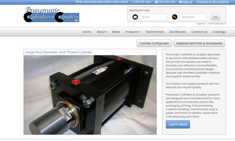 Pneumatic Cylinders & Couplers, Inc.
