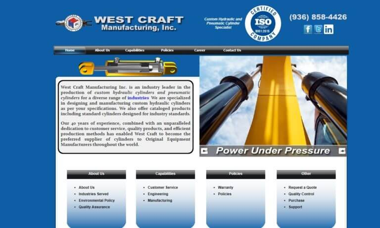 West Craft Manufacturing, Inc.